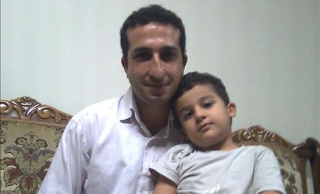 Christian Pastor Youcef Nadarkhani and his son
